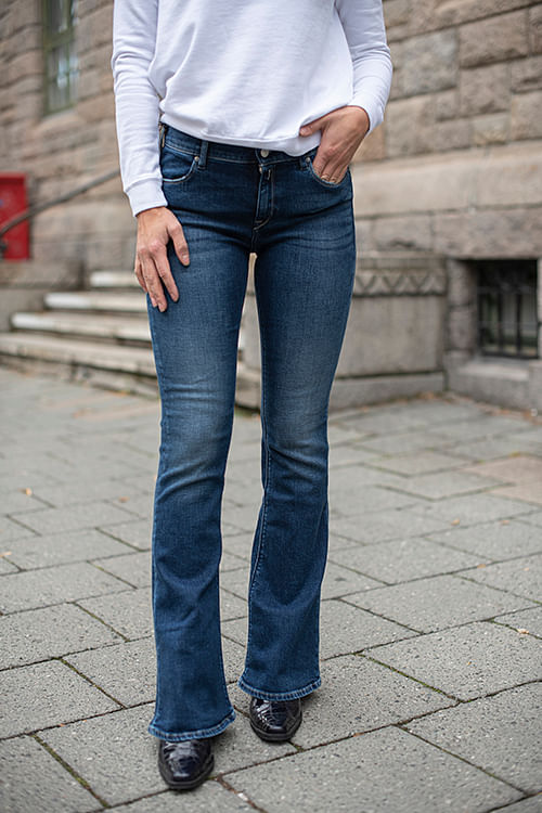 Replay Stella Flare Blå jeans