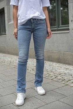 Luz Bootcut jeans lysblå