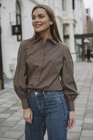 Ellen Ls Shirt Black
