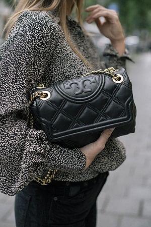 Fleming Soft Small Convertible Shoulder Bag Black