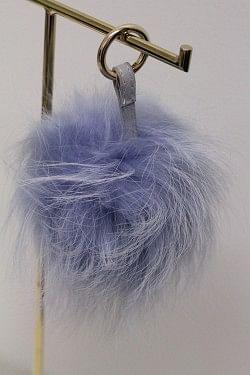 Raccoon Pom Pom Stor Denim Blue