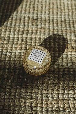 Macaron Candle 15t Bergamot Rose
