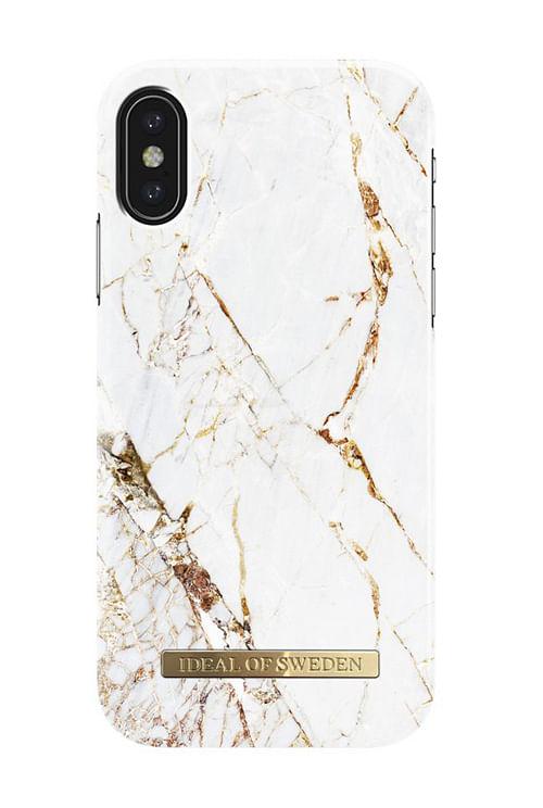 iDeal of Sweden Carrara Gold Iphone X mobildeksel