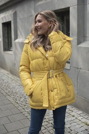 Twyla Downjacket Misted Yellow