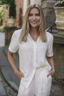 Bruni Shirt White