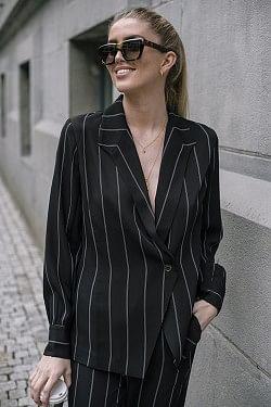 Isabella Top Pinstripe