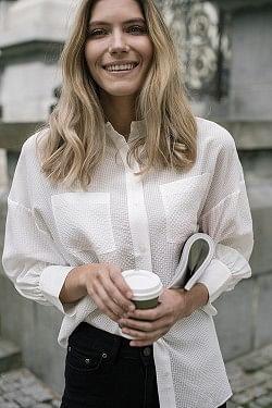 Monica Blouse White
