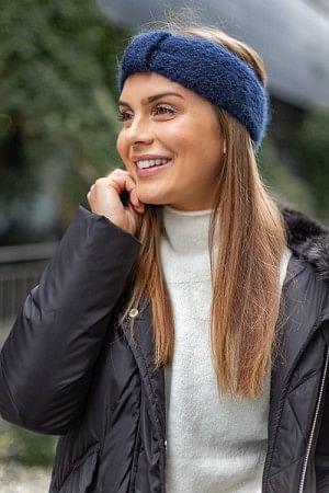 Lina Headband Blue Nights