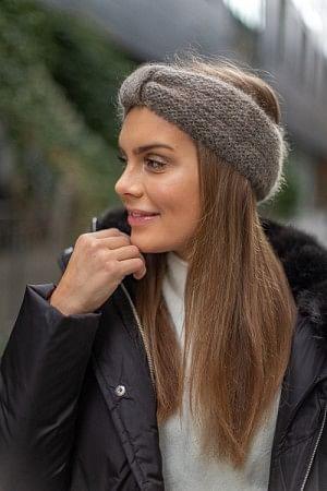 Lina Headband Melange Brown