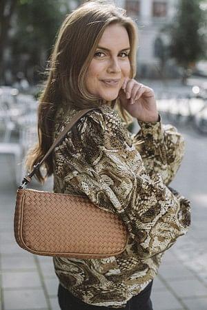 Braidy Monica Bag Soft Beige
