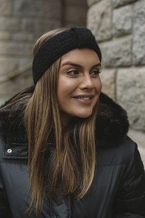 Lina Headband Black