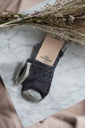 Dina Animal Sock Grey