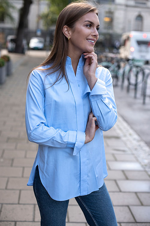 Leijai Shirt Pastel Blue