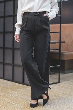 Enil Trousers Black
