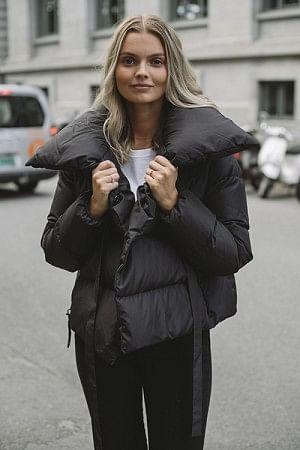 Puffa Jacket Black