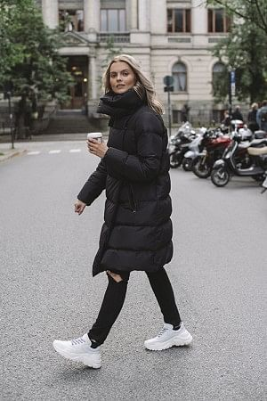 Big Puffa Jacket Black