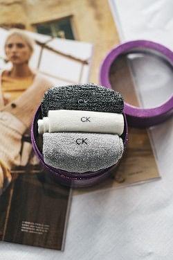 Anastasia 3-pk Sparkle Socks Black/Grey/Ecru