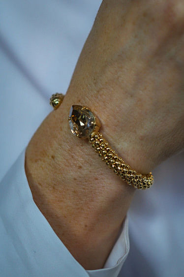 Classic Rope Bracelet Golden Shadow