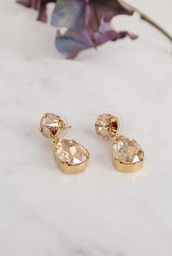 Classic Drop Earrings Golden Shadow