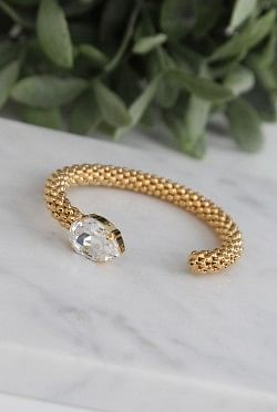 Classic Rope Bracelet Crystal