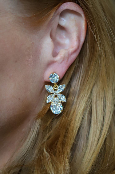 Mini Dione Earring Crystal