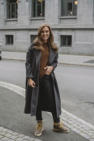 Copenhagen Coat Charcoal