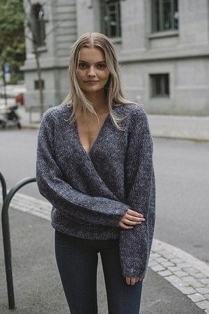 Firenze Knit Blue Mix