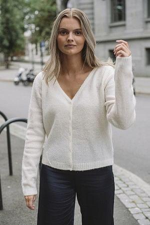 Oslo Cardigan Winter White