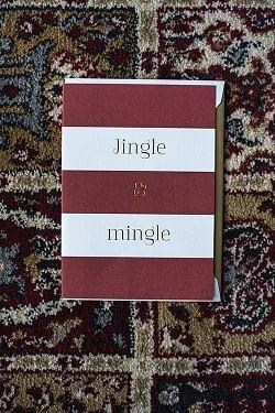 Jingle & Mingle A6 Red And White