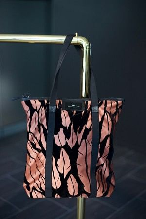 Gweneth F Feather Tote Glow