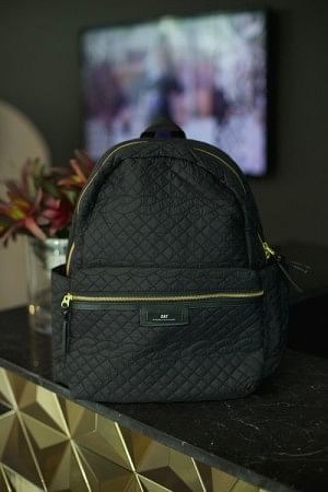 Gweneth Q Cable Backpack Black