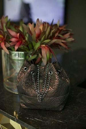 Shimmer Tucket Petit Copper