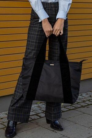 Velvet Band Bag Black
