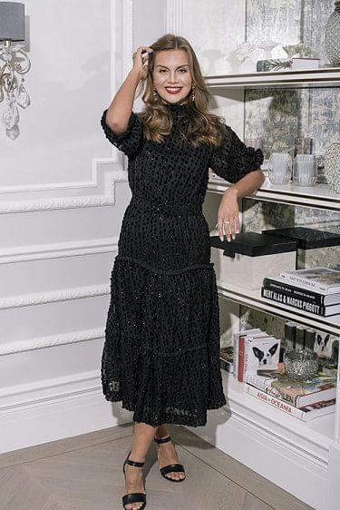 Aperitivo Dress Black