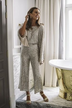 Bling Jumpsuit Butter
