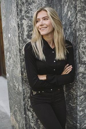 Whitney Cardigan Black