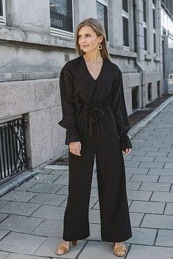 Veronique Jumpsuit Black