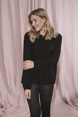 Susanne Merino Sweater Black