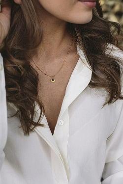 Soleil Necklace Gold
