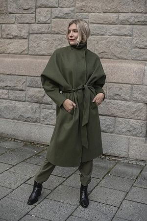 Kautokeino Coat Green