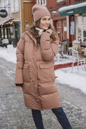 Pollux Down Coat Cognac