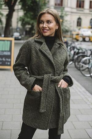 Boucle Wool Coat Kalamata