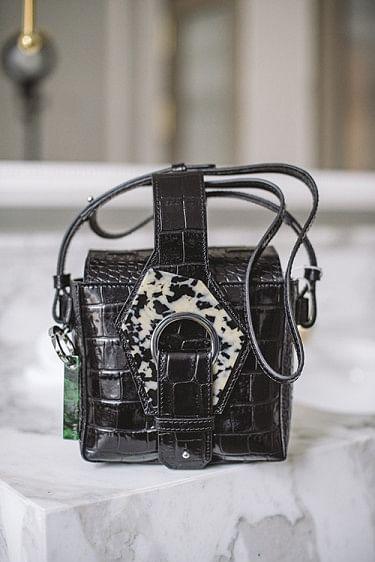 Micro Tote Bag Black