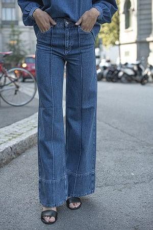 Suit Denim Pants Denim