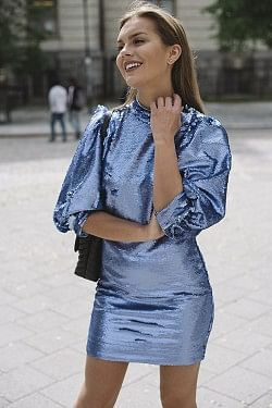 Sequins Dress Forever Blue