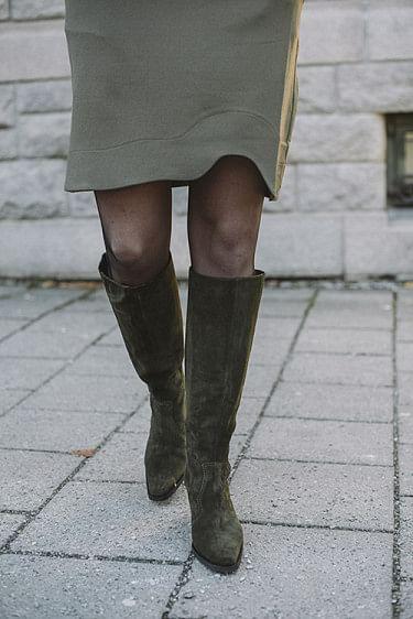 Western Knee High Boots Kalamata