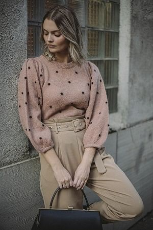 Dionna Puff Pullover Tuscany