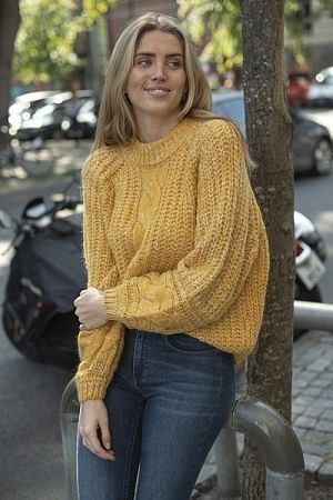 Zia Pullover Golden Yellow