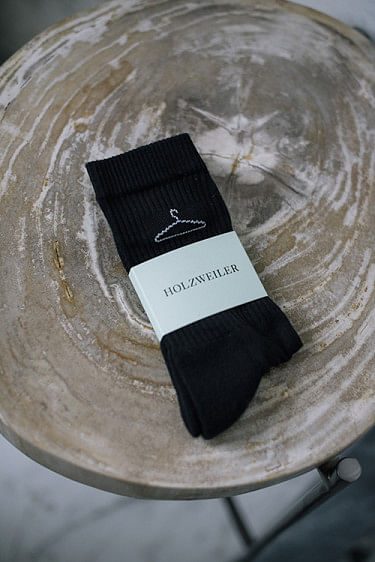 Hanger Sock Black