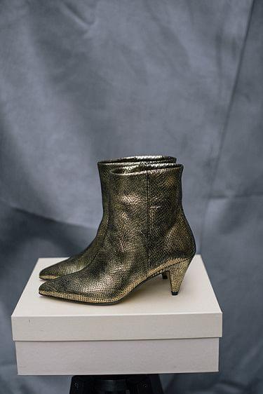 Casablanca Boots Reptile Gold